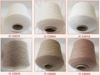 Wholesale cashmere Cashmere blended yarn clothing fabric Cashmere sweater y good heat insulating ability and high performance price ratio