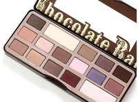 Wholesale Best price DHL Makeup Chocolate Bar Eyeshadow Palette Color Eye Shadow plates