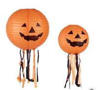 203040 cm ceinture 010 Halloween Halloween prise de décoration lanterne citrouille papier lanterne lanternes de citrouille