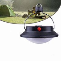 Wholesale Outdoor Indoor Portable Camping LED Lamp Tent Lantern White Light Campsite Hanging Lamp Tent Light Led Camping Light
