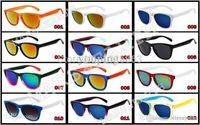 achat en gros de lunettes d'équitation en miroir-New Frog Skins Vintage Personnalisé Coloré Miroir Sport Lunettes de soleil Lunettes de Lunettes Goggles Hommes ou Femmes Brand Riding Sunglasses