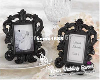 baroque pictures - Rectangle quot Black Baroque quot Resin Elegant Place Card Holder Photo Frames Frame Favors For Wedding Picture