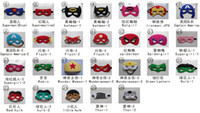 Wholesale 2015 superhero mask mix style superman spiderman batman ironman flash Captain America Hulk mask Halloween Masks Masquerade