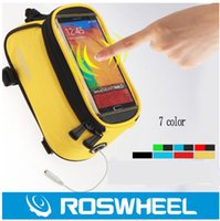 Wholesale Newest Waterproof Cycling Sport Road Bike Bag Bicycle Frame Front Tube basket Pannier Handle Bar Bags Cell Phone bags Fixed Gear necessary