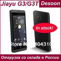 Magazzino russo Guerrino G3 G3S telefono MTK6589T Quad Core Guerrino G3T G3sT 1,5 GHZ 4G ROM + 1G RAM 4.5 8MP Gorilla Glass nero argento