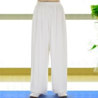 Wholesale Synthetic cotton martial arts style tai chi pants kung fu pants