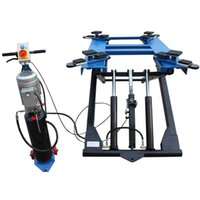 used tires - Hot sales Portable Scissor car lift used for auto repair equipment hydraulic vehicle hoist SDN SP