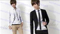 Wholesale New Arrival Spring Fashion Wild Korean Candy Color Stylish Slim Fit Men s Suit Jacket Casual Business Dress Blazers