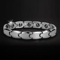 Wholesale Hot SaleTungsten bracelet Fashion Classics radiation protection polish Tungsten Bracelet For man women