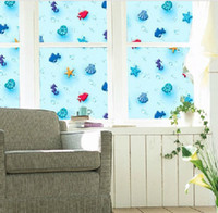 privacy window cling - Static cling room frosted window decoration privacy residential window film for kid s room cm x cm