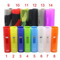 Wholesale Subox Mini Silicone Covers Mix Colors Mini Portable Practical Case Cover Protector Ecigs Cases For Subox Mini DHL Free FJ651