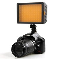 Wholesale Professioanl camera light HD LED Video Light for DSLR Camera DV Camcorder canon nikon sony