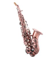 Wholesale EMS Children sax selmer saxophone Sax B flat paint gold brass hand carved