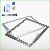 Wholesale NEW Black Touch Screen For iPad iPad3 iPad4 Touch Digitizer Screen Glass Replacement Screen With opening Tools Touchscreen