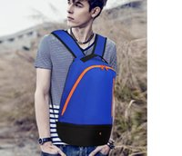 Wholesale Factory direct han edition tide backpack leisure sports bag The new men s and women s hiking backpack