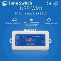 Wholesale Smart Home USR WM1h Wireless Remote Control Switch Domotica Wifi Relay Switch V Phone control Support Android and IOS