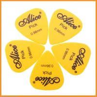 bass stringed instrument - Professional mm Smooth ABS Guitar Bass Ukelele Picks Alice AP P Stringed Instrument Plectrum Various in Color