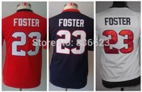 arian foster jersey youth - Factory Outlet Arian Foster Kid Jersey Youth Football Jersey Embroidery and Sewing Size S XL Accept Mix Order