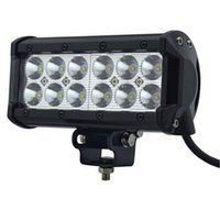 Cheap 60 Degree 36W Cree LED Work Light Bar Best 7 6000K Work Light Bar