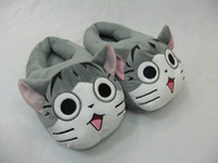 adult video movies - 1 Pair quot cm Chi s Sweet Home Lovely Cat Plush Shoes Soft Winter Indoor Slippers For Adult