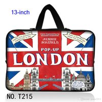 Unisex apple vaio - UK Flag London Laptop Bag Carry Case Fit quot Sony Vaio Duo Apple Macbook Pro Sleeves Hot