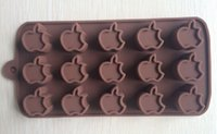 apple cake pan - apple type Muffin Sweet Candy Jelly fondant Cake chocolate Mold Silicone tool Baking Pan B188