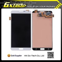 Cheap For Samsung Galaxy Note 3 lcd display touch screen digitizer with frame assembly replacement N9005 N9006 N900A N900V N900T N900P