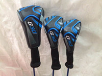 Wholesale golf clubs G30 driver loft G30 fairway woods regular flex TFC419 shaft G30 golf woods free headcover