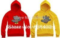 El envío libre 2014 venta caliente 90/100/110/120/130/140 / 150cm niños hoodies anillos de campeonato de baloncesto imprimen el suéter de 8 colores