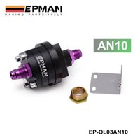 Wholesale EPMAN High Quality AN10 BLACK OIL FILTER SANDWICH PLATE COOLER ADAPTER KIT X16 X1 EP OL03AN10BK