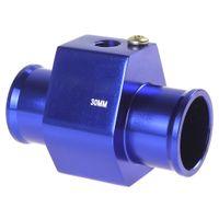 Wholesale Water Temperature Temp Sensor Guage Adapter mm Aluminium with Clamps CEC_515