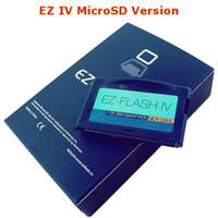 Wholesale NEW EZFLASH IV CARD Micro SD card Version with new kernel Up to gb