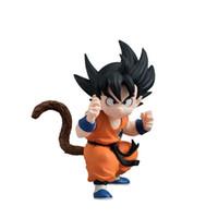 bandai dragonball z - New Japanese Anime Original Bandai Dragonball Dragon ball Z Kai Styling Figurine Son Goku Youth