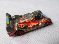 Wholesale Pixar Car Neon Racer Shu Todoroki Metal Toy Car Loose toy flip cars