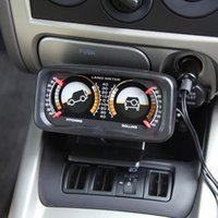auto slope - TypeR Car Auto Compass Balance Meter Slope Indicator Land Meter with LED Light For Off Road Vehicle SUV