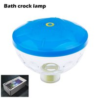 bath spa jacuzzi - 2015 New Water Bottom Show LED Disco Ball Multi Light Bath Hot Tub SPA Jacuzzi Decoration for the Pool Party PM00047