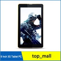 Cheap 9 Inch MTK6572 Dual Core 3G Phone Call P900W 1GB 8GB Android 4.2 Dual Sim Card 3G WCDMA GPS BT Dual Camera Tablet PC New arrivals 002773
