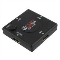 Wholesale 1Pcs Mini HDMI Port Port HDMI Splitter HDMI Switch Switcher for HDTV P Vedio