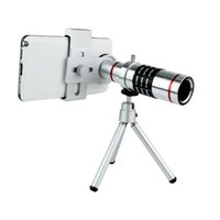 Wholesale 18X Universal Zoom Optical Telescope Camera Telephoto Lens With Tripod Holder For HTC iPhone Nokia Sony Z Samsung SIII S4 W2064D