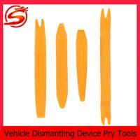 auto ventilation - Plastic Auto Vehicle Dismantling Device Removal Pry Tool Kit Set For Car Audio Ventilation Orange CDE_909