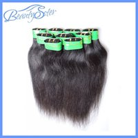 Wholesale Unprocessed Virgin Indian Hair Extensions Straight Human Hair Weaves Kinky Straight Style Mixed Bundle Indian Remy Hair