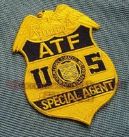 alcohol tobacco - Exquisite collections US Alcohol Tobacco and Firearms Bureau ATF embroidered badge
