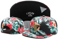beautiful son - Beautiful Floral Flower CAYLER SON Hats New Snapback Caps Men Snapback Cap Cheap Cayler and Sons snapbacks Sports Caps Fashion Caps TY