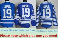 alternative cotton - 30 Teams Joffrey Lupul Jersey Blue Home Blue Alternative Winter Classic Blue Jersey Cheap Toronto Hockey Jerseys