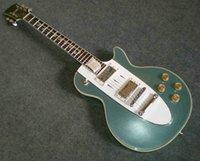 Wholesale 1960 Corvette Guitar Custom Shop Corvette blue metallic music electric guitar