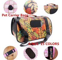 airline carriers for dogs - 10 colors New Pet Dog Comfort Travel Carrier Tote Bag Crate Airline S M L for pet dog