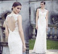 Cheap 2015 Grecian Style Wedding Dresses Best Vintage Mermaid wedding dresses