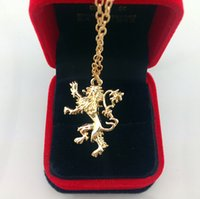 apartment free - Hot Dragon Badge Pendant Necklace New Sherlock b Jewelry Apartment Fire and Ice Dragon Necklace