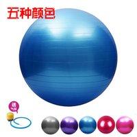 yoga ball exercise ball - Yoga ball fitness ball Exercise PVC ball cm Stability Exercise Yoga Gym Fitness yoga Ball with Free Pump