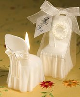 shower chair - pieces wedding chair shape candle weddding party decoration birthday baby shower wedding favor gift